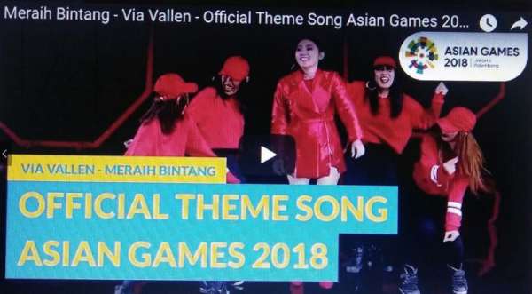 Lagu Resmi Asian Games 2018 Dinyanyikan Via Vallen Dengan Genre Pop Dangdut Modern